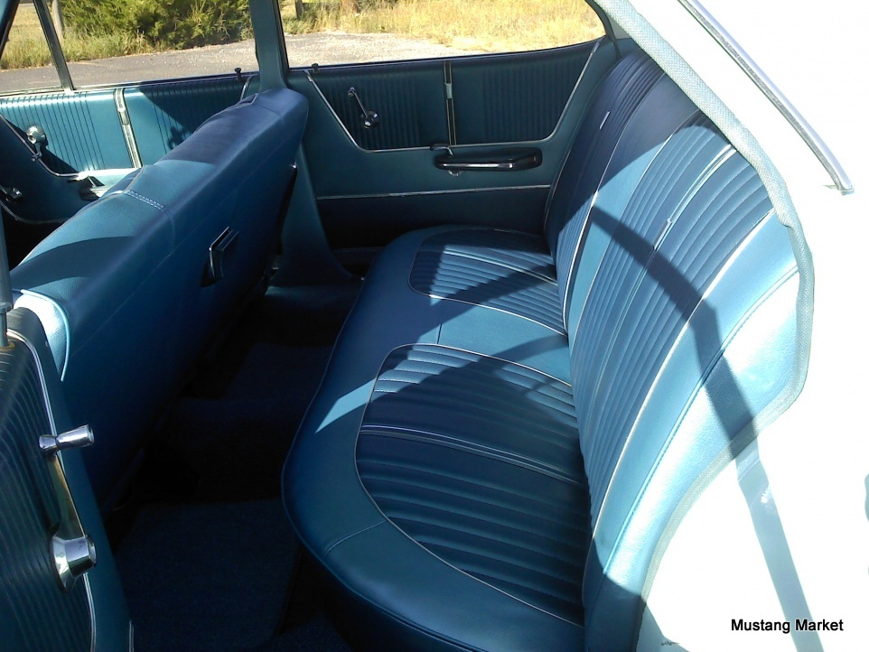 1962 Ford Galaxie 500xl Bucket Seat Upholstery