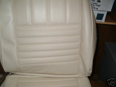 1967 Ford Fairlane bucket Seat upholstery