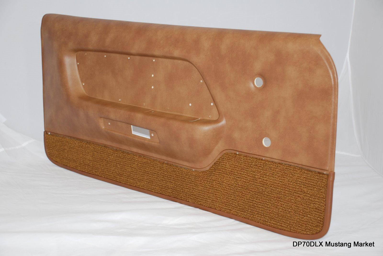 1969 1972 1973 Mustang Deluxe Door Panels