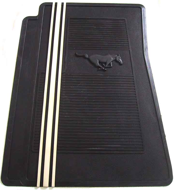 ford mustang gt reproduction rubber floor mats by mustang