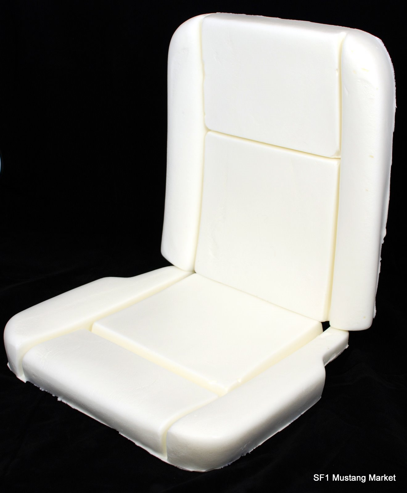1965 1966 Mustang Pony deluxe interior Seat Foam made by Mustang Market