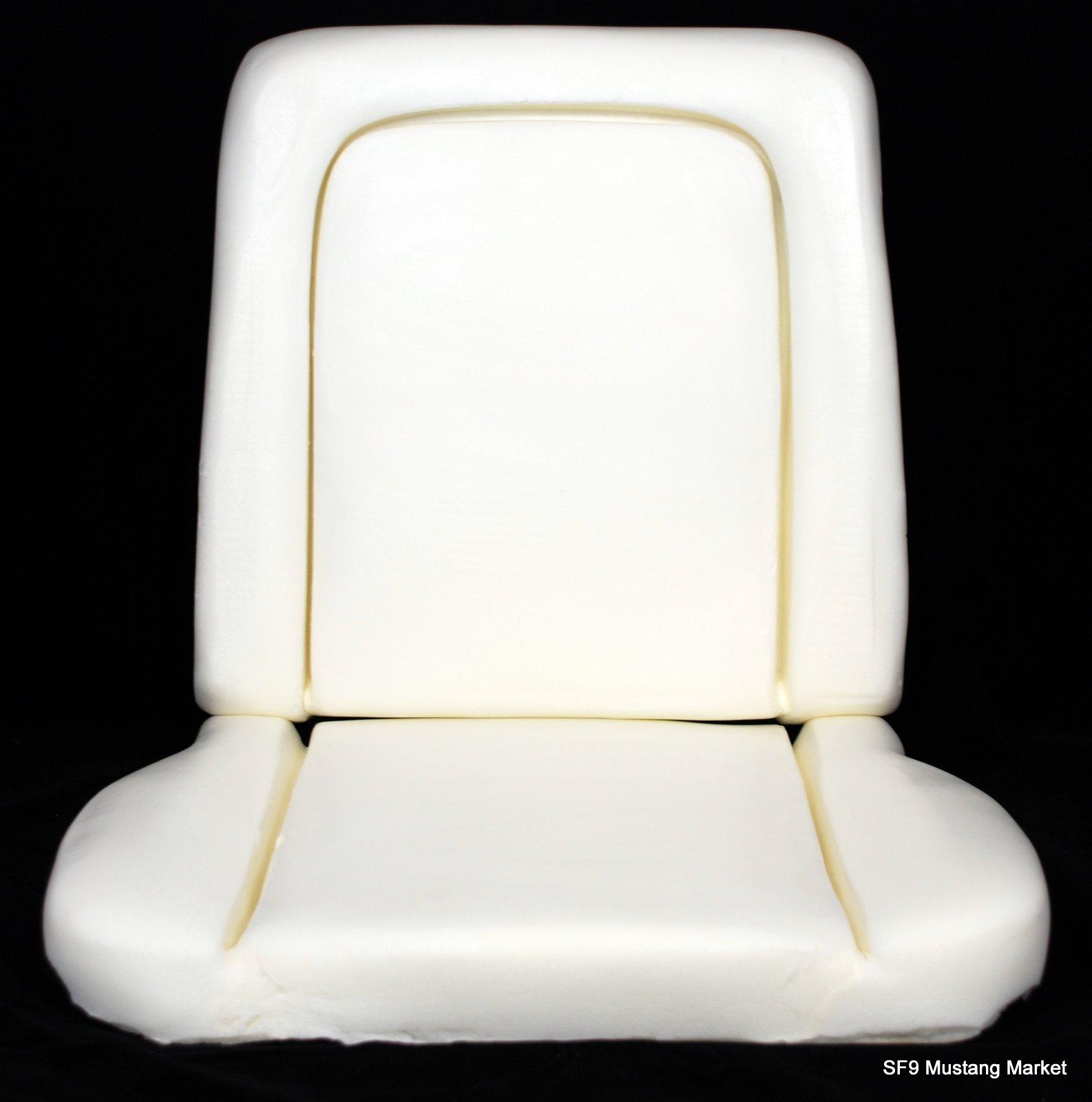 1967 Fairlane Deluxe/ Ranchero Bucket Seat Foam Made By Mustang Market
