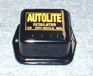1965 Ford Mustang Voltage Regulator with air or power top